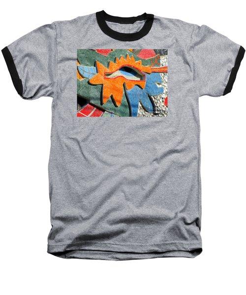 Diego Rivera Mural 9 Baseball T-Shirt