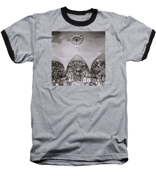 Diego Rivera Baseball T-Shirt by Shaun Higson