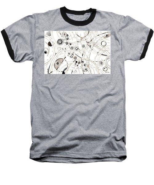 Diffracting Around Baseball T-Shirt