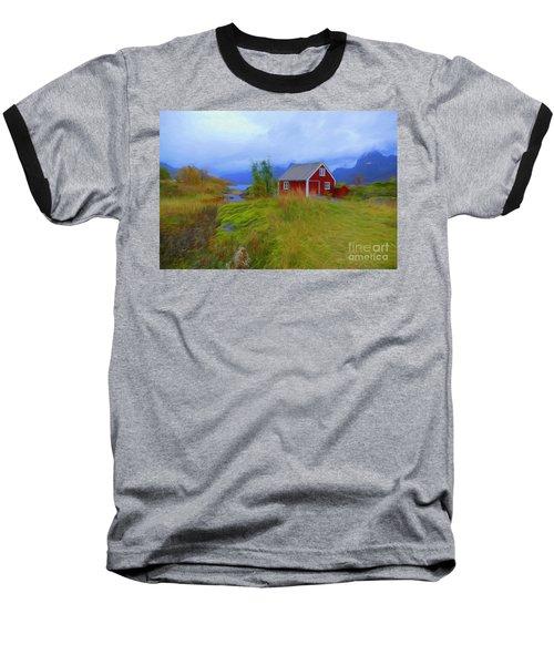 Digermulen,lofoten Baseball T-Shirt