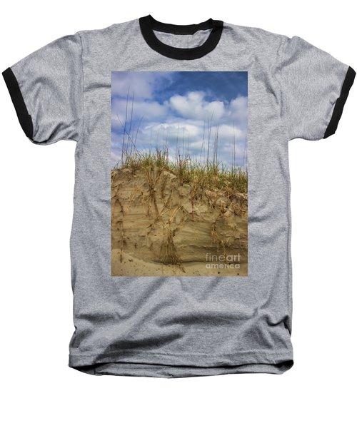 Digging In Deep In Sand Dunes Baseball T-Shirt