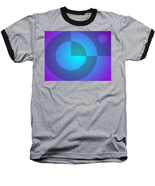 Digital Abstract Art 001 A Baseball T-Shirt
