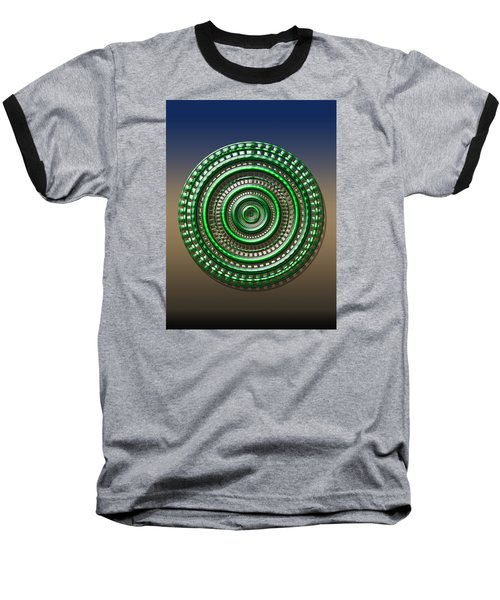 Digital Art Dial 3 Baseball T-Shirt