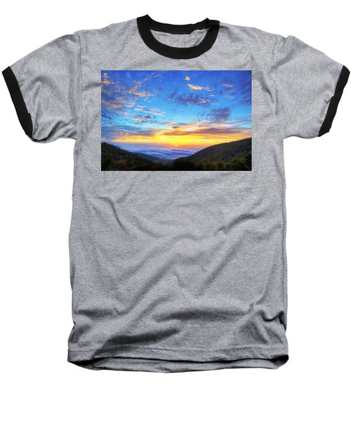 Digital Liquid - Good Morning Virginia Baseball T-Shirt