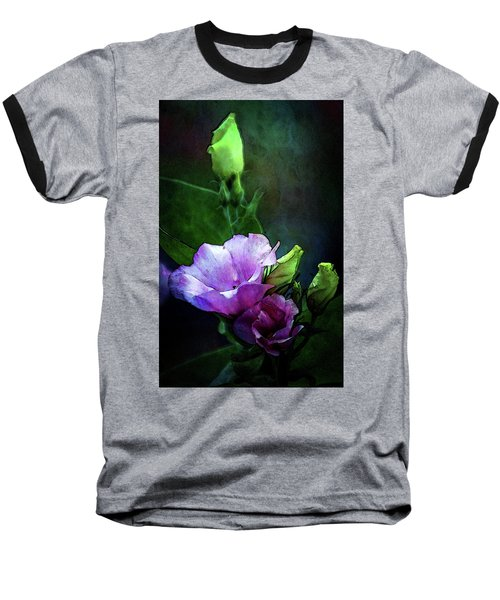 Digital Watercolor Elegance 3700 W_2 Baseball T-Shirt