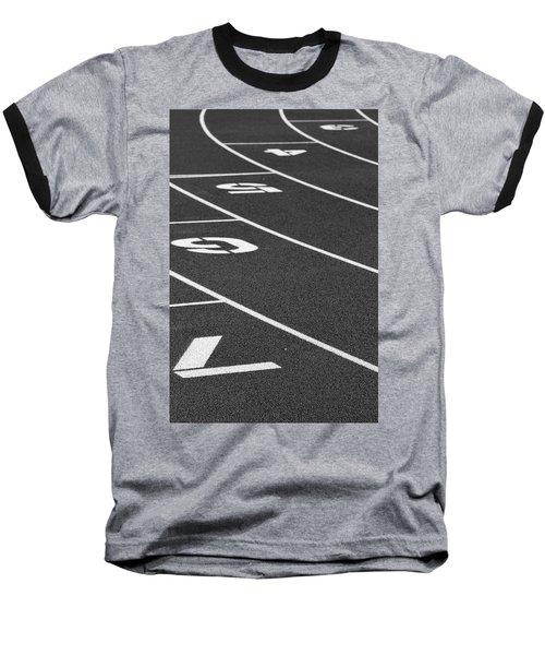 Dimensional Curve Baseball T-Shirt