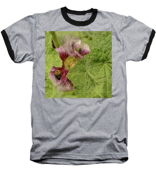 Dimensions Of Bees_flowers Baseball T-Shirt