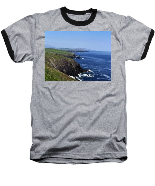 Dingle Coast Near Fahan Ireland Baseball T-Shirt