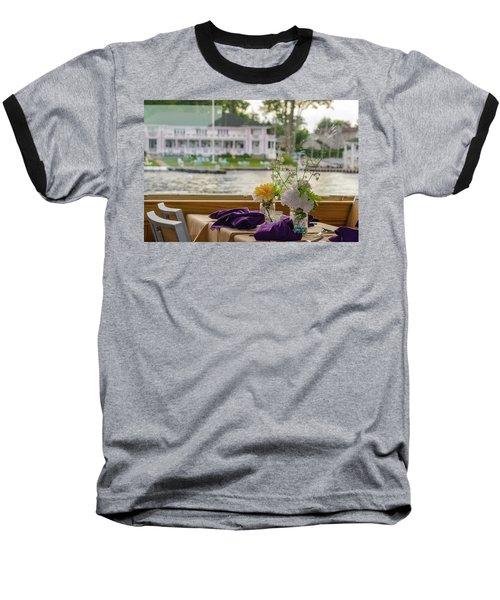 Dining Aboard The Miss Lotta Baseball T-Shirt
