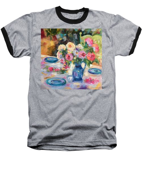 Dining Alfresco Baseball T-Shirt