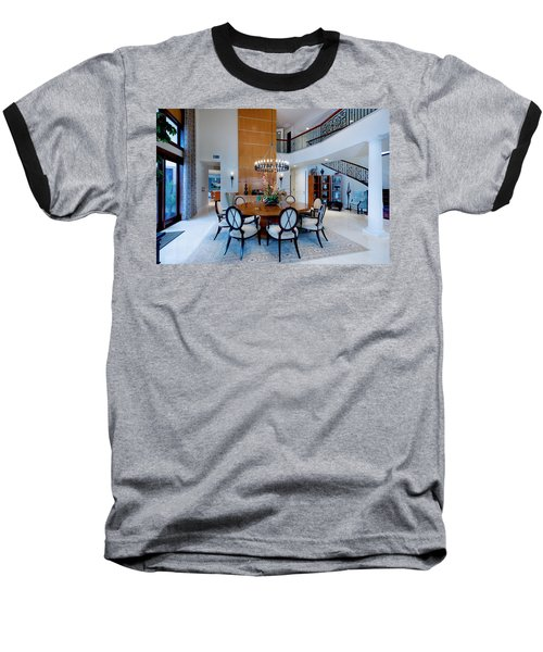 Dining In The Round Baseball T-Shirt