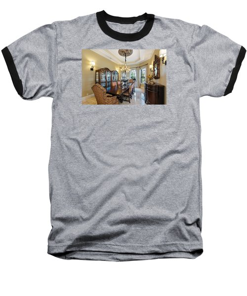 Dining Baseball T-Shirt