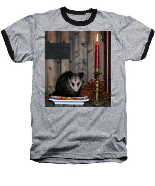 Dining Possums II Baseball T-Shirt