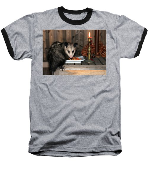 Dining Possums Iv Baseball T-Shirt