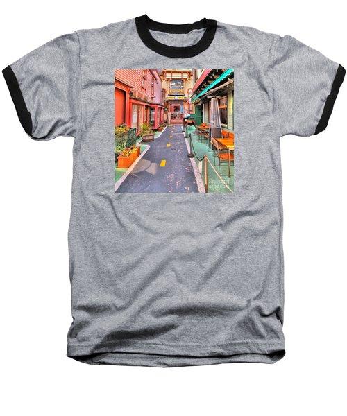 Dink's Taxi Bar Harbor Baseball T-Shirt