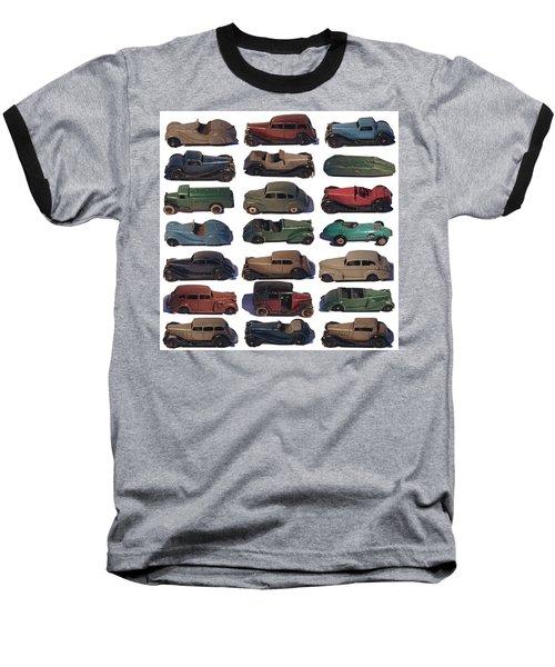 Dinky Car Park Baseball T-Shirt