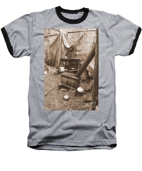 Baseball T-Shirt featuring the photograph Dinner Will Have To Wait by Marie Neder