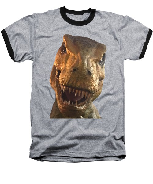 Dino Hello Baseball T-Shirt