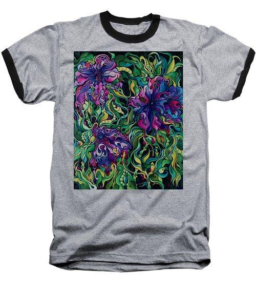Dioxazine Disintegration Baseball T-Shirt