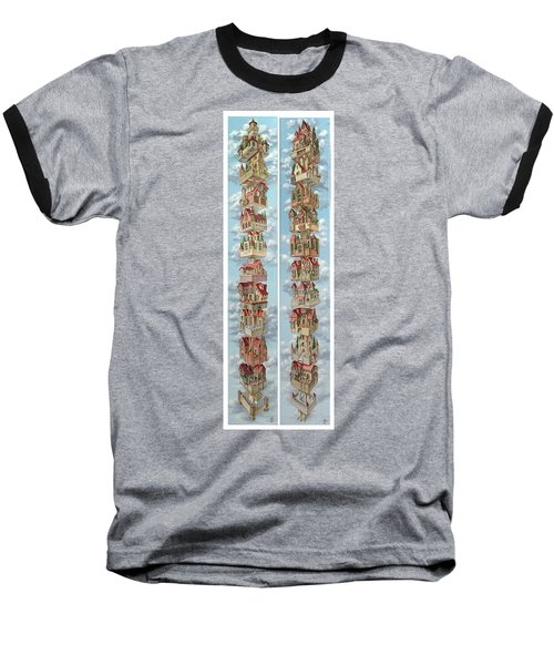 Diptych Air Castles Baseball T-Shirt