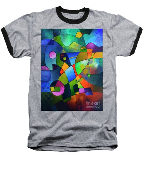 Direction North Baseball T-Shirt