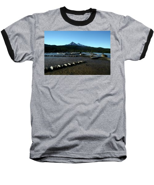 Baseball T-Shirt featuring the photograph Directional Points by Laddie Halupa