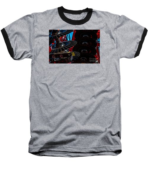 Baseball T-Shirt featuring the photograph Disc Drive by Trey Foerster
