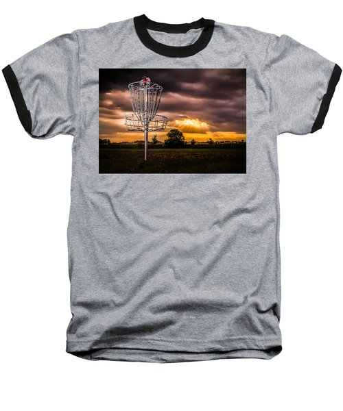 Disc Golf Anyone? Baseball T-Shirt