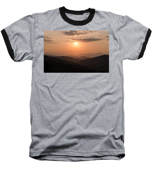 Disciples Of The Sun Baseball T-Shirt