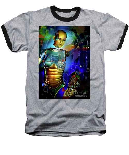 Disconnected Baseball T-Shirt
