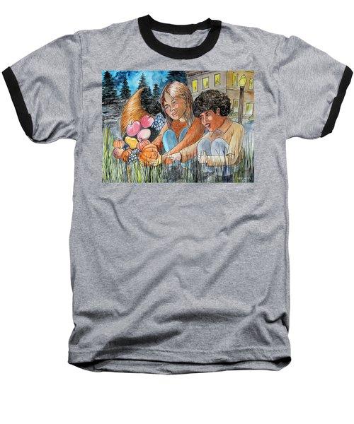 Discovering Heloise O'lantern Baseball T-Shirt