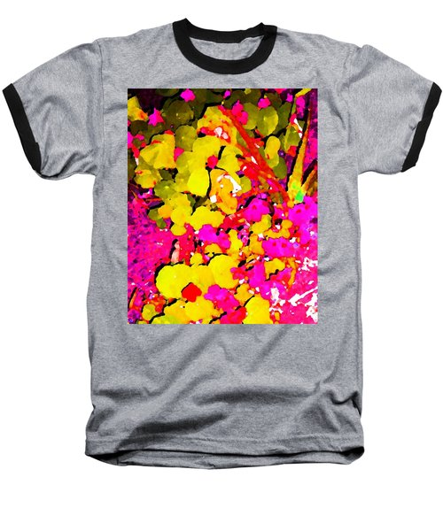 Baseball T-Shirt featuring the digital art Discovering Joy by Winsome Gunning