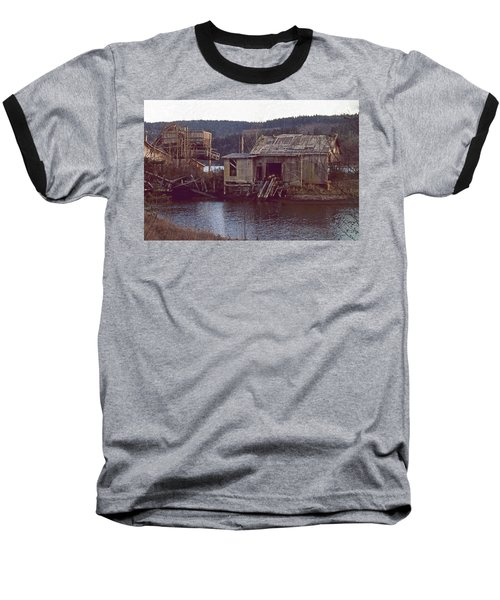 Baseball T-Shirt featuring the photograph Discovery Bay Mill by Laurie Stewart