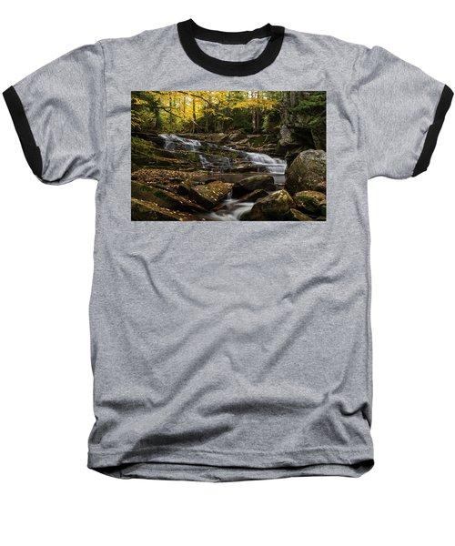 Discovery Falls Autumn Baseball T-Shirt