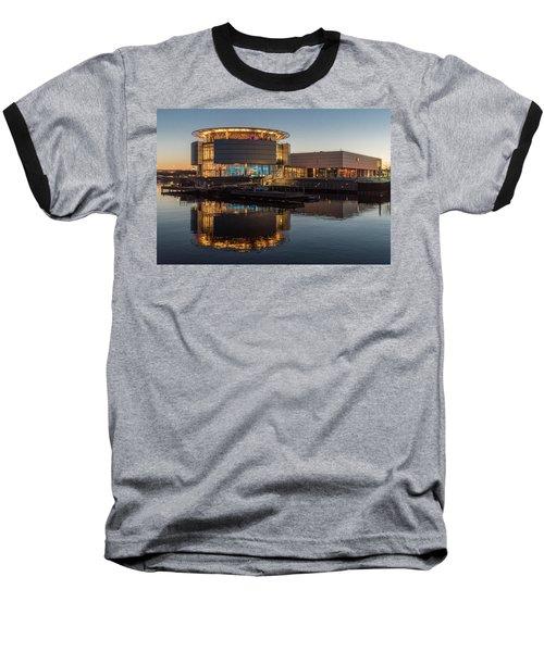 Baseball T-Shirt featuring the photograph Discovery World by Randy Scherkenbach