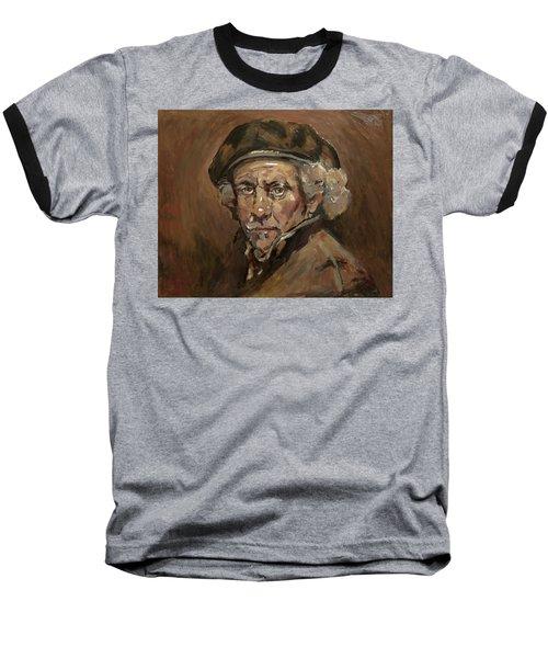 Disguised As Rembrandt Van Rijn Baseball T-Shirt