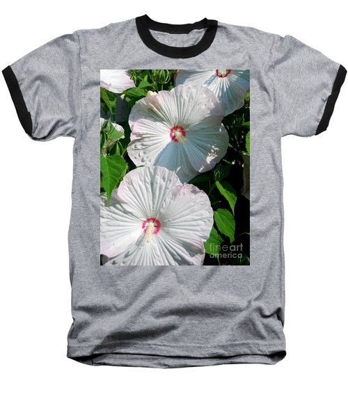 Dish Flower Baseball T-Shirt