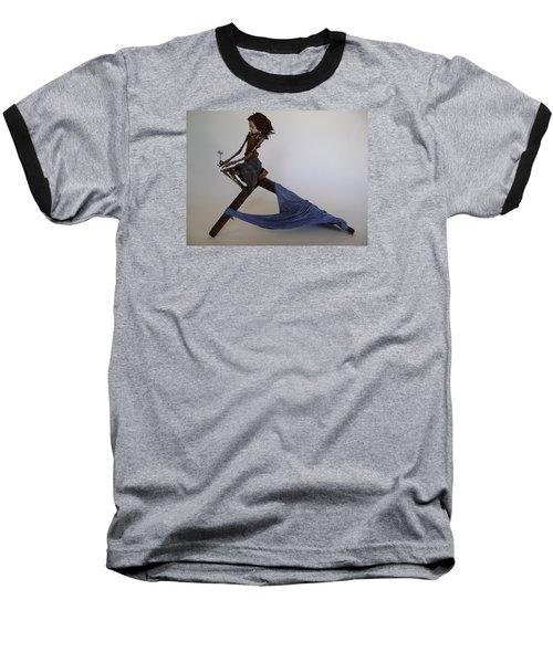 Disintegration Baseball T-Shirt