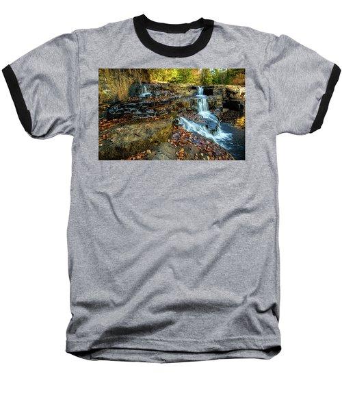 Dismal Creek Falls Horizontal Baseball T-Shirt