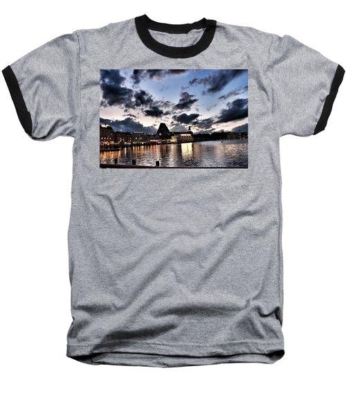 Disney Boardwalk Sunset Baseball T-Shirt