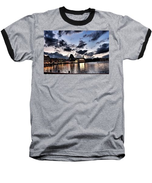 Disney Boardwalk Sunset Baseball T-Shirt