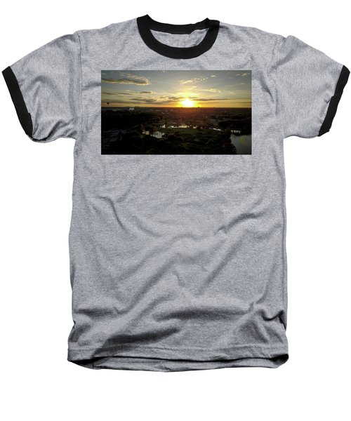 Disney Sunset Baseball T-Shirt by Michael Albright