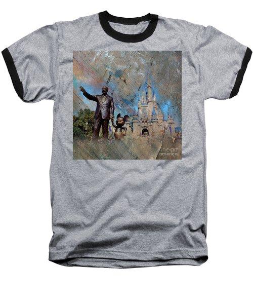 Disney World Baseball T-Shirt