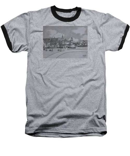 Disney's  Caribbean Beach  Baseball T-Shirt by Tony Clark