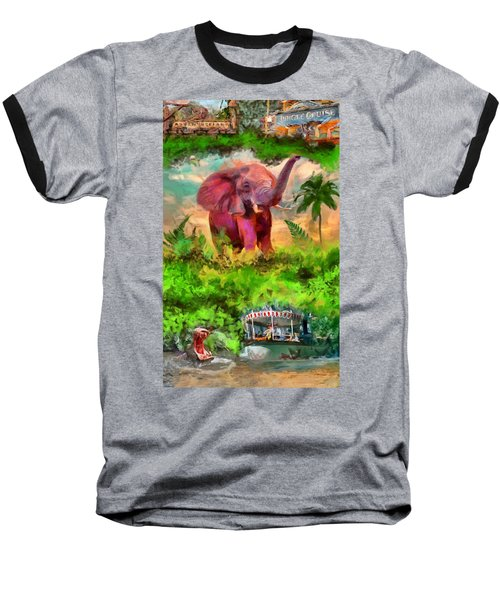 Disney's Jungle Cruise Baseball T-Shirt