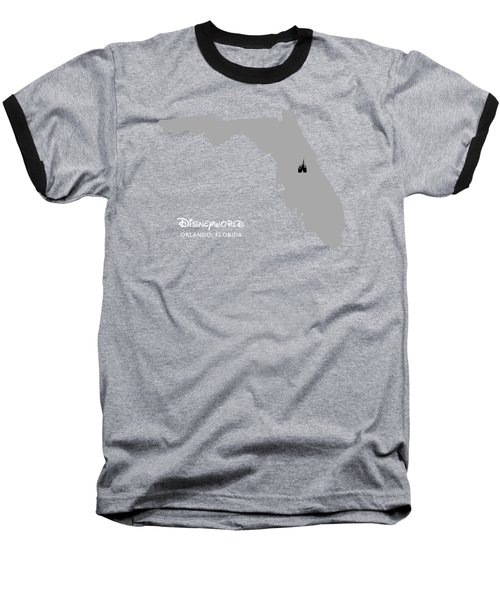 Disneyworld Baseball T-Shirt