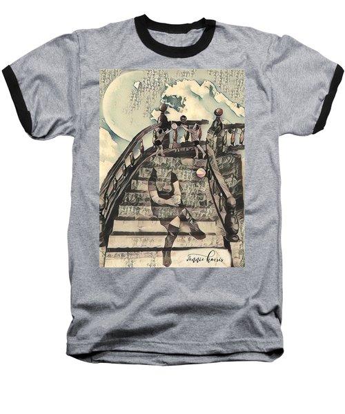 Dissociated Mother Baseball T-Shirt by Vennie Kocsis