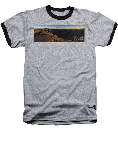 Dissolving Light Baseball T-Shirt