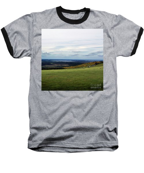 Baseball T-Shirt featuring the photograph Distance by Sebastian Mathews Szewczyk