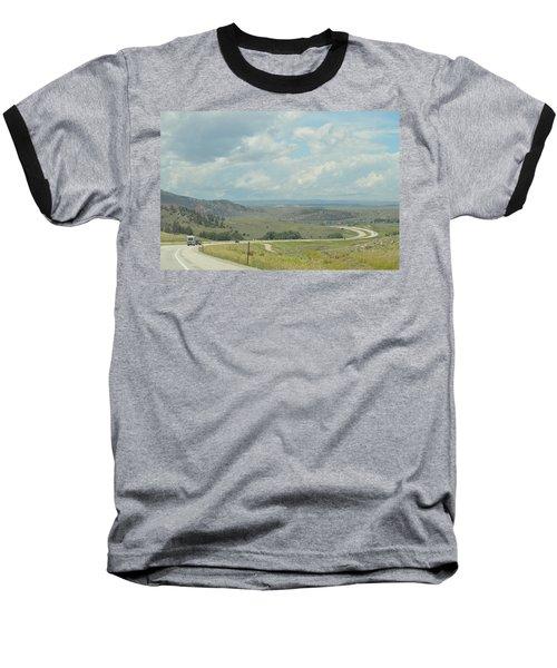 Distant Roads Baseball T-Shirt